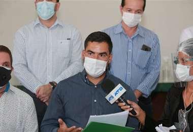 Representantes de diferentes sectores rechazan nuevas restricciones/Foto: Fuad Landivar