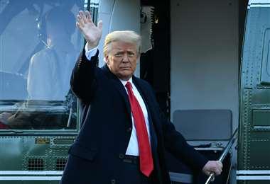 Donald Trump se va de la Casa Blanca/Foto: AFP