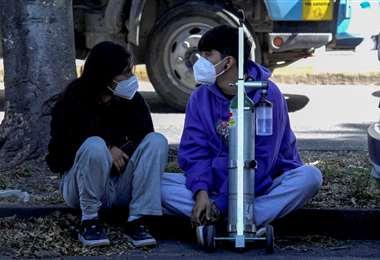 En Guadalajara hay demanda de oxígeno médico/Foto: AFP