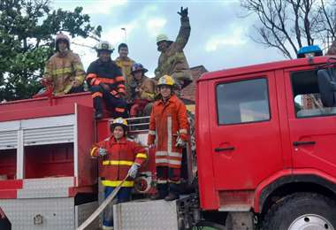 Los bomberos apelan a los vecinos de la ciudadela