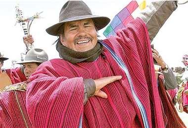 El Mallku tenía 78 años de edad y era candidato a la Gobernación paceña