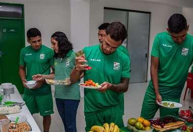 La nutricionista de Oriente hizo un máster en la Escuela del Real Madrid