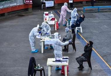 El Gobierno promueve la toma de pruebas masivas