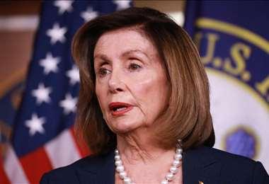 """No creo que tarde mucho, pero debe hacerse"""", dijo Pelosi sobre el juicio"""