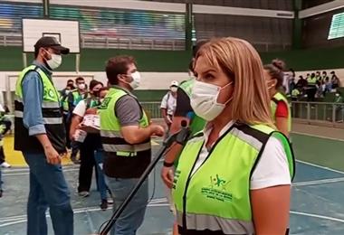 Fabiola Castedo, asesora municipal de Salud. Foto. Internet