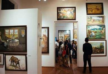 La galería de arte recibe casi 17.000 visitantes cada mes