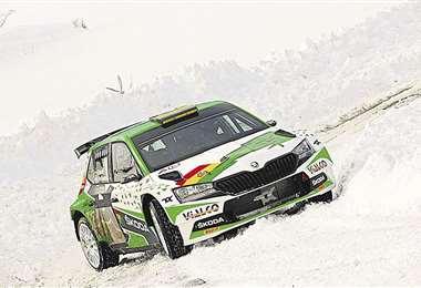 Arranca el año participando en el tradicional Rally de Montecarlo