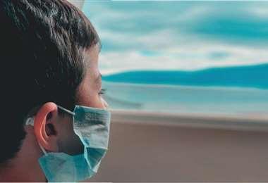 Foto referencial, en los últimos días se registra mayor incidencia de contagios en niños