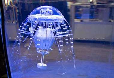 Robot en forma de medusa