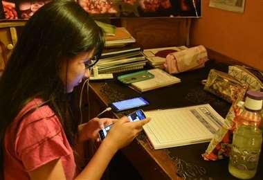 Santa Cruz mantendrá la educación virtual en el arranque del año escolar. Foto: Archivo