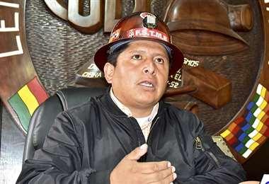 Huarachi pidió trabajar por la reactivación económica (Foto: Los Tiempos)