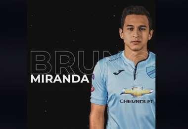 Miranda es una de las promesas del fútbol boliviano. Foto: Marcelo Claure