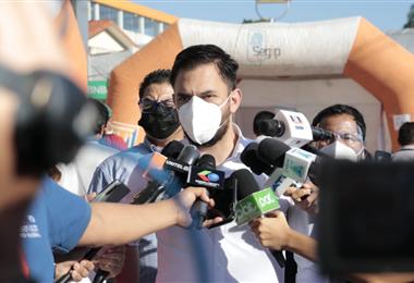 Eduardo del Castillo, ministro de Gobierno. Foto. Internet