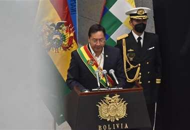 El presidente Luis Arce Catacora | Foto: APG