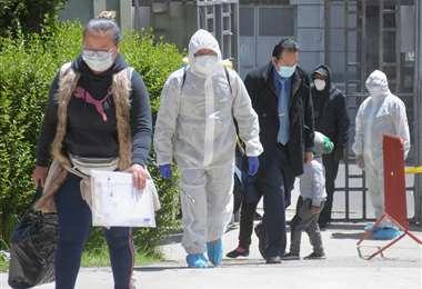Aumentan los casos de Covid-19 en Bolivia. Foto APG