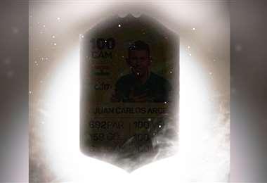 Arce adelantó su destino, según hinchas. Foto: Facebook Juan Carlos Arce