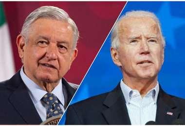 López Obrador y Joe Biden. Foto internet