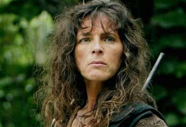 """Mira Furlan en una escena de la serie """"Lost"""""""