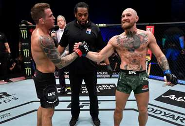 Regreso fallido de McGregor, noqueado por Poirier