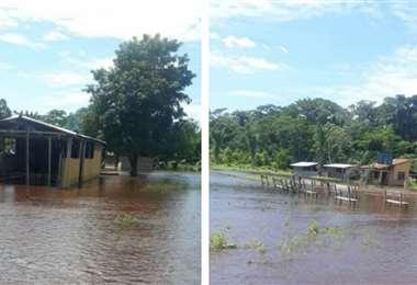 El agua está afectando a las comunidades