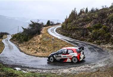 Ogier gana su octavo Rally de Montecarlo. Foto AFP