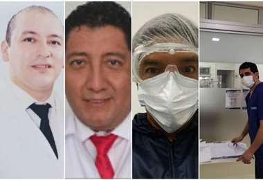 Richy Hurtado, Mauricio Martínez, Andrés Martínez y Juan Pablo Mérida