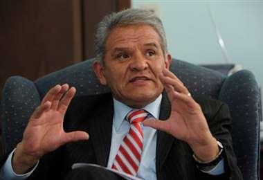 Imagen de archivo del exdefensor del Pueblo, Rolando Villena