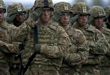 El ejército estadounidense tiene 1,3 millones de efectivos en servicio activo