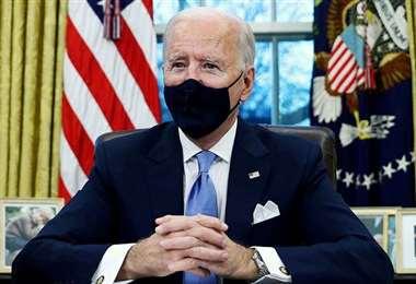 Biden comienza a lidiar con la oposición en el Congreso