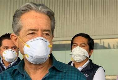 El ministro de Salud Juan Carlos Zevallos