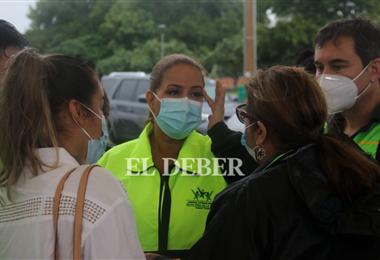 Angelica Sosa, alcaldesa de Santa Cruz. Foto. Juan Carlos Torrejón