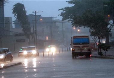 Semana lluviosa en Santa Cruz. Foto. Internet