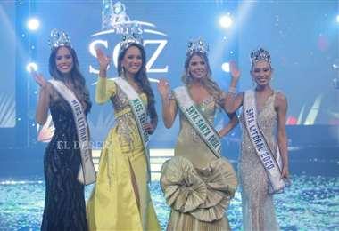 Ellas fueron las ganadoras del concurso Miss Santa Cruz y Miss Litoral 2020