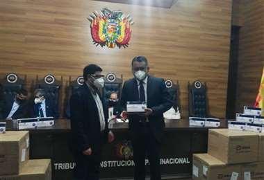 Gobierno entregó este lunes 8.800 pruebas de antígeno para el Órgano Judicial y el TCP