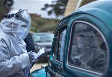 Santa Cruz se acerca a los 70.000 casos positivos de covis. Foto: ABI