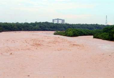 Searpi alerta sobre crecidas en los ríos por las lluvias. Foto:Archivo