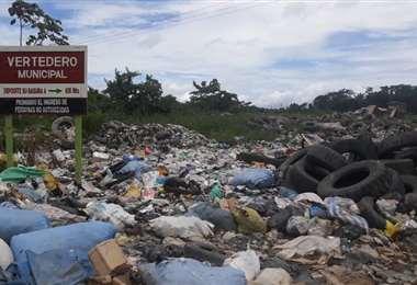 Vertedero municipal de Yapacaní. Foto Soledad Prado