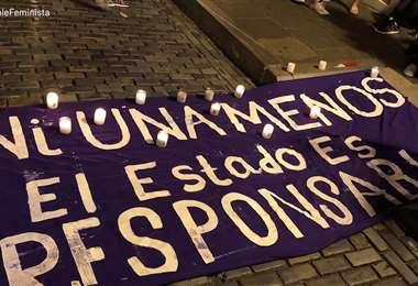 Mujeres en Puerto Rico se unen al movimiento mundial contra la violencia machista