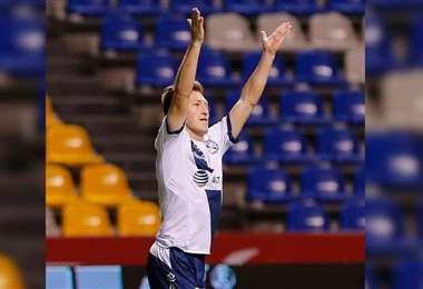 Chumacero se despidió del Puebla FC. Foto: Facebook Alejandro Chumacero