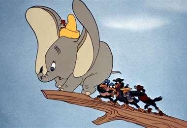 """Escena de la película """"Dumbo"""""""