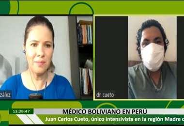 Juan Carlos Cueto en EL DEBER RADIO