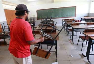 Lunes arrancan las clases y se impone la modalidad virtual. Foto: Archivo