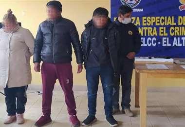 Sospechosos detenidos