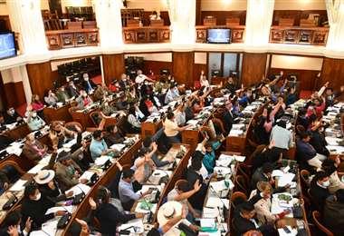 El proyecto de ley fue remitido a la Cámara de Senadores