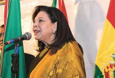 La embajadora de México I Twitter.
