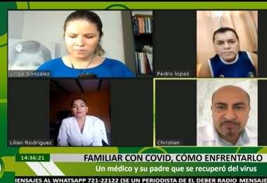 Linda González recupera un testimonio de vida tras superar el Covid