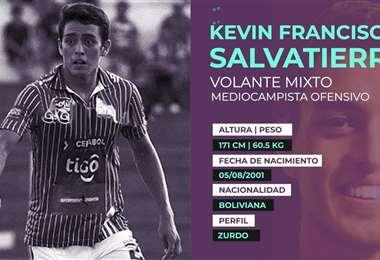 Kevin Salvatierra, la joyita que transfirió Oriente. Foto: internet