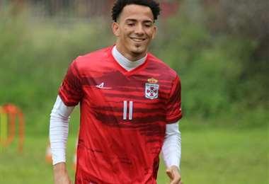 Edarlyn Reyes, nuevo jugador de Real Santa Cruz. Foto: CRSC