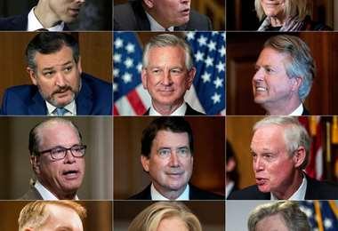 Congresistas de EEUU I AFP.