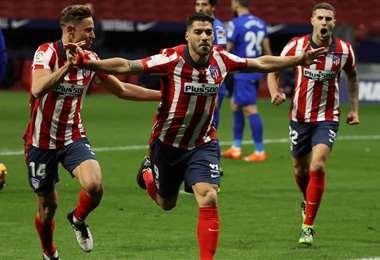 Luis Suárez es la carta de gol del cuadro colchonero